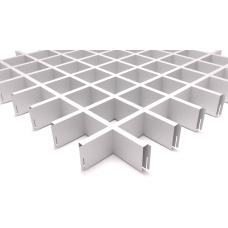 Грильято потолок 75x75